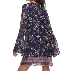 Speechless Dresses - Speechless Bell-Sleeve Dress